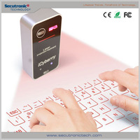 Virtual Keyboard Infrared Wireless Bluetooth Usb Connection For Mobile Phone