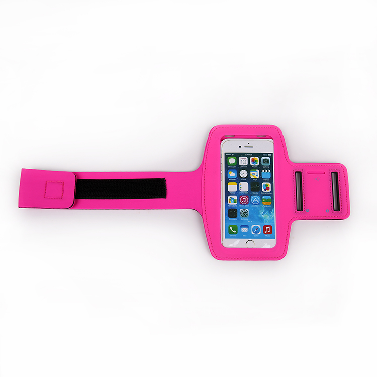 Reflective Lycra Spandex Armband For Iphone 6 plus