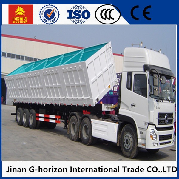 Best quality Powerful 40-50T SINO HOWO dump truck trailer