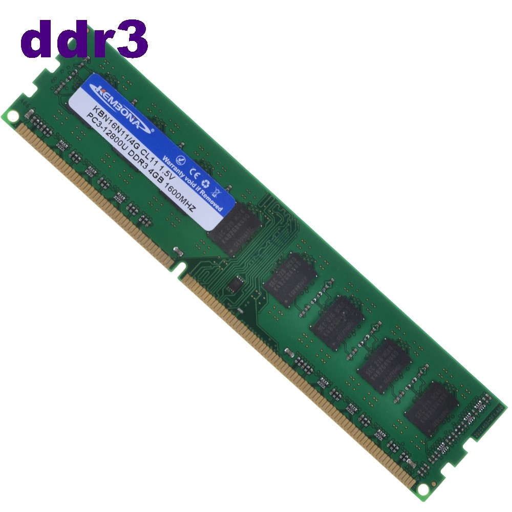 1600MHZ 4GB DDR3 PC3-12800U Dimm Desktop RAM AMD Memory