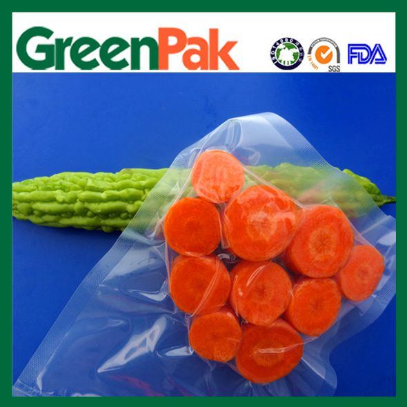 nylon poly cabbage carrot vacuum bag