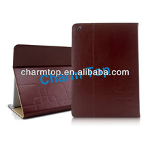 New Arrival Leather Flip Case For iPad Air