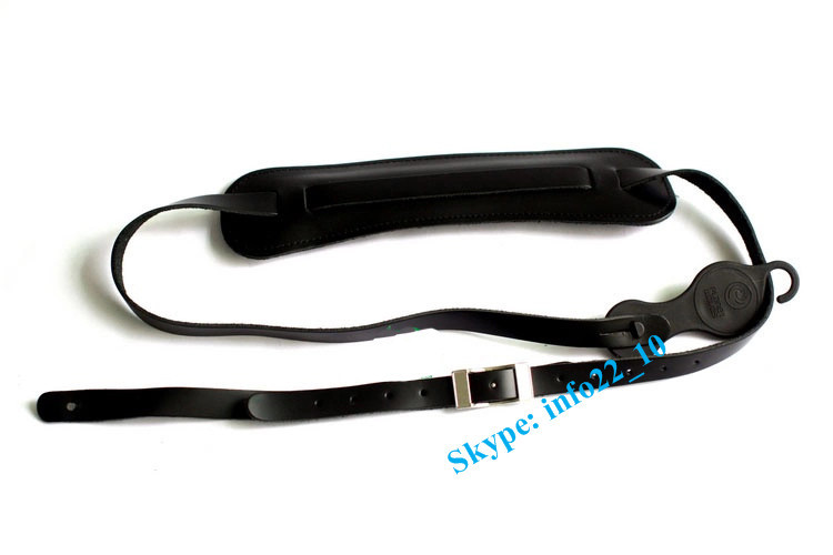 Top quality electric guitar strap parts custom leather guitar strap approved ISO