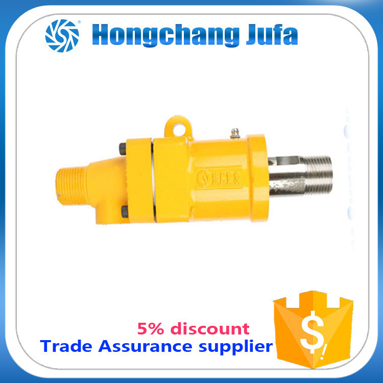 4 pin connector male female hydraulic rotary joints coupling nut