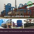 sulfuric acid plant equipment based on sulfur