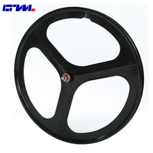 FIX REAR Magnesium Alloy Wheelset New model 700C FIX tri spoke wheel Tubular 3 spoke wheel for single speed fixed gear