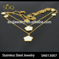 SNO13007 latest design 316l stainless steel imitation jewelry world cup 2014