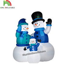 2017 outdoor Christmas Inflatable snowman cartoon for decoration event