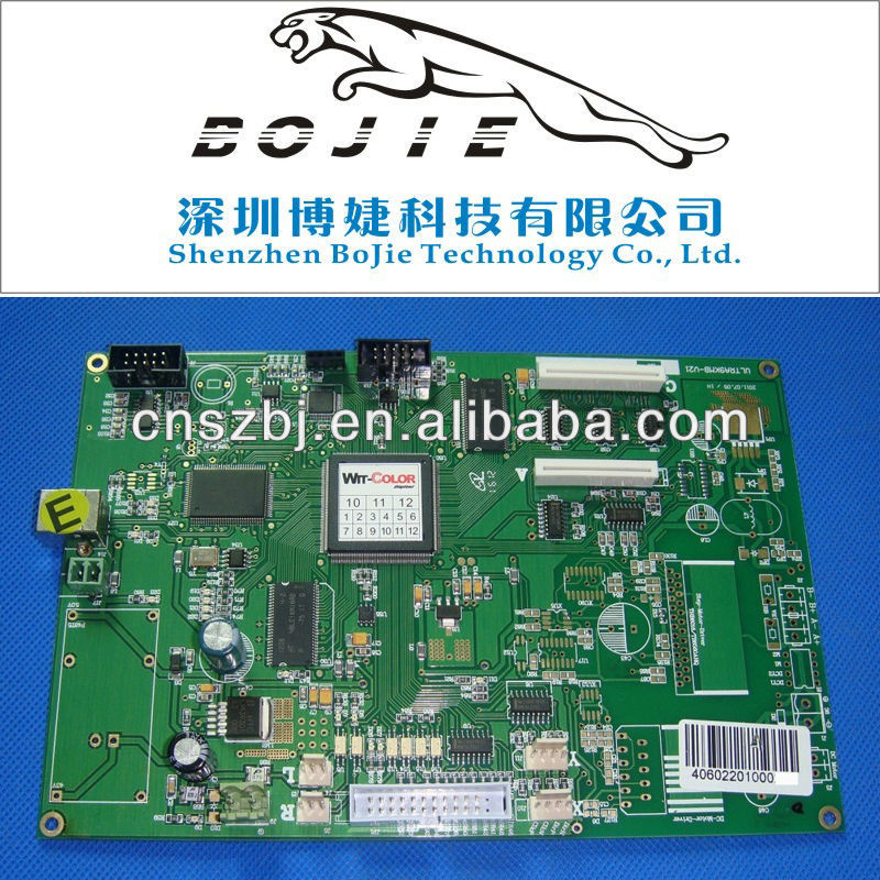 Wit color ultra 9000 printer main board as ultra9kmb-V21. pcb board