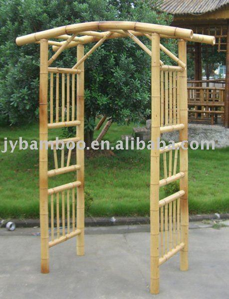 Bambou arbor pergola arches pavillon pergola et ponts id de produit 260479811 - Pergolas de bambu ...