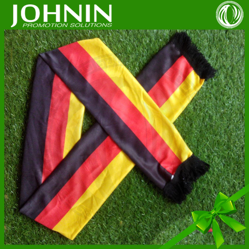 2018 Russian football game knitted polyester country flag sport scarf