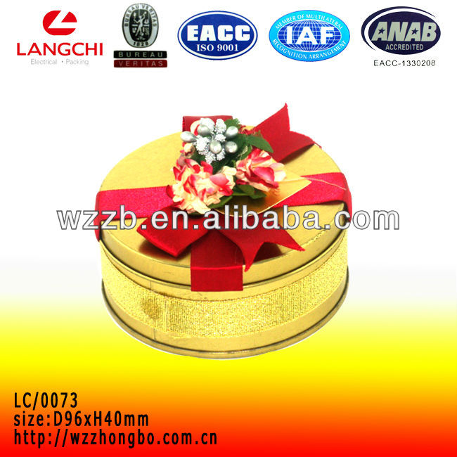 Fashion metal soap tin box for promotion