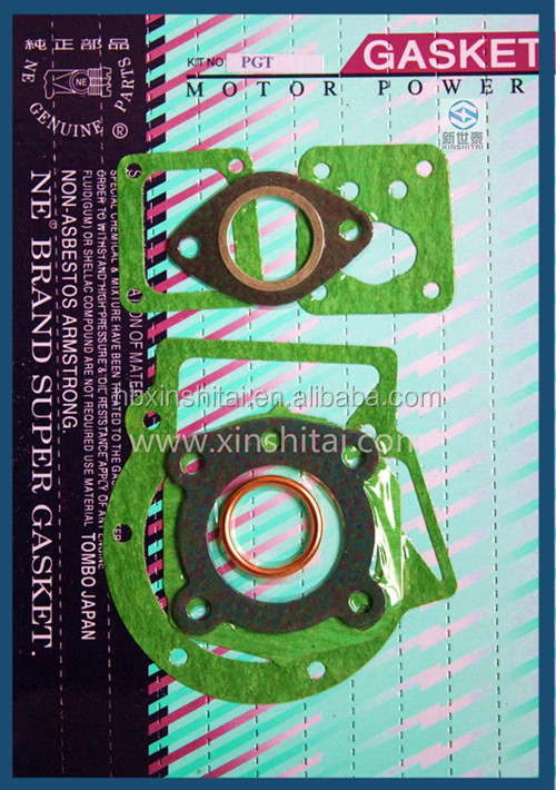 motorcycle complete gaskets/ spare parts for PGT
