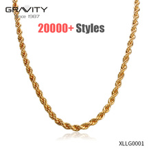 wholesale long latest simple men hip hop American new designs neck jewelry brass 24k 14k 18k gold plated men chain necklace