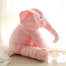 2017 Hot Sale Cute Elephant Shaped Pillow Low MOQ Popular Elephant Pillow