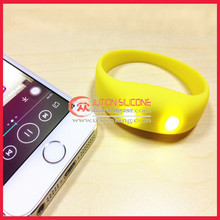 Personalized silicone led wristbands for advertising promotional gifts