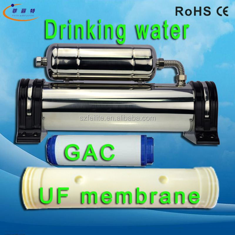Best Manufacturers in China low price water purifier 1500L 304 stainless steel Center mineral water filter