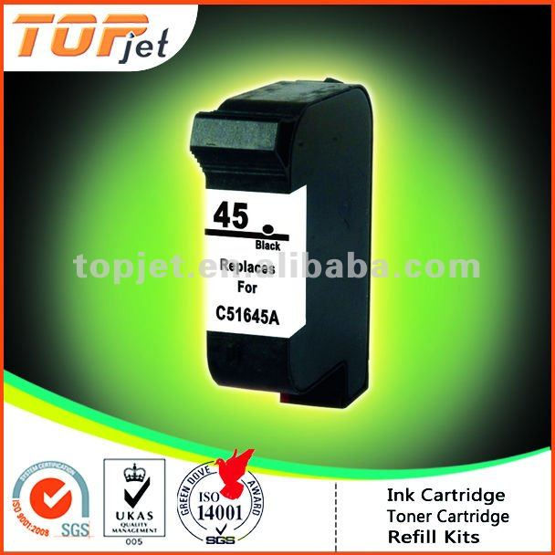 Remanufactured Ink Cartridge For HP45(C51645A)