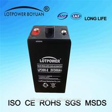agm gel battery for solar application China manufacturing batteries solaires 2v 300ah lead acid battery CHINA