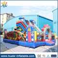 haule High Quality Inflatable Bouncer Robot Slide 18oz PVC Outdoor Commercial