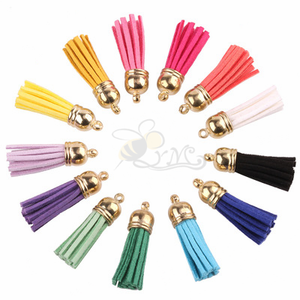 High quality small leather tassel for decorative Accessory