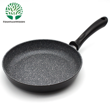 Aluminum Medical Stone Non Stick Coating All Clad Induction Frying Pan in Cooking