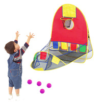 2018 Best selling in France outdoor toys structures Collapsible shooting targets for kids indoor and outdoor shooting tent