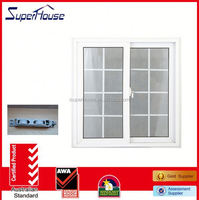 AS2047 standard factory supply upvc mosquito netting sliding door