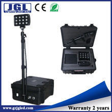 security and protection LED light rechargeable flood beam projection or a powerful spotlight rechargable advertising