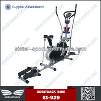 High quality oem deqing ES-929 multifunction body fitness elliptical air bike trainer orbitrac exercise equipment