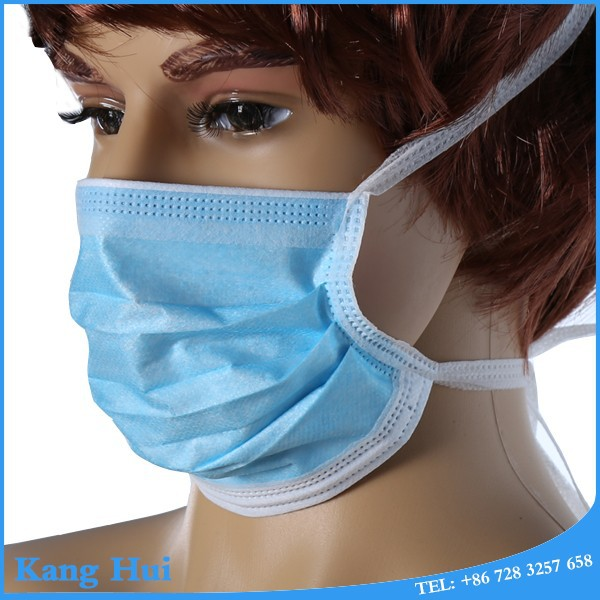 3 ply non-woven face masks with shield for personal health care