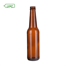 Hot sale refillable amber empty glass 300ml beer bottle