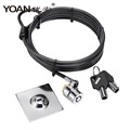 High Security cable ipad lock laptop lock notebook lock for ipad 2/3/4