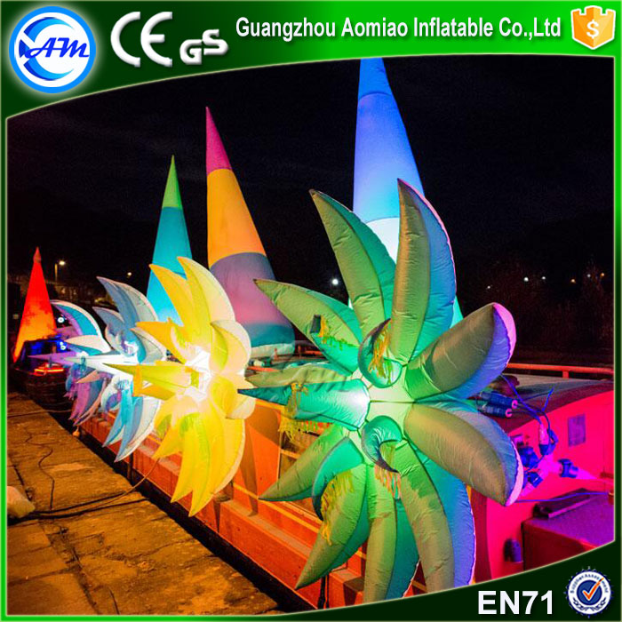 Giant inflatable flower chain inflatable flower decoration for wedding,event,stage