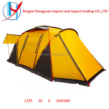 aldi 6 person Hot selling luxury Double Layer Nylon Aluminium pole camping family tent 8 person