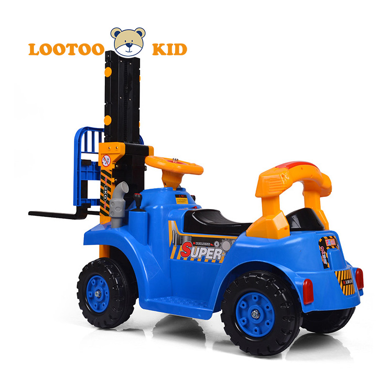 Alibaba trade assurance Battery kids cars 4 wheel drive construction vehicle toy for kids baby car toy vehicle