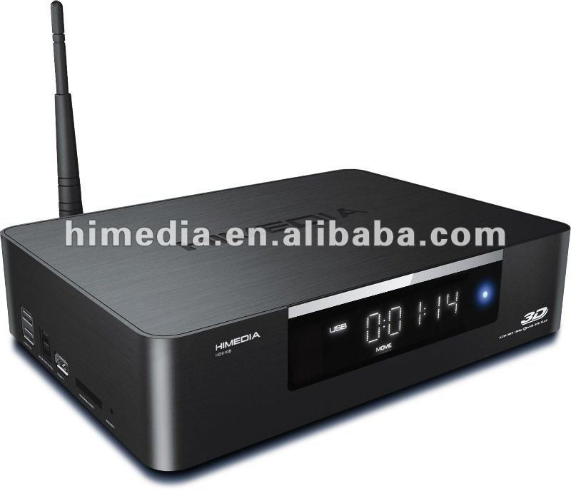 2013 hot selling Android 2.2 BDISO support 3D RTD 1186 media player with hard disk slot