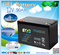for ups system 12volt 90ah Deep Cycle Gel Battery