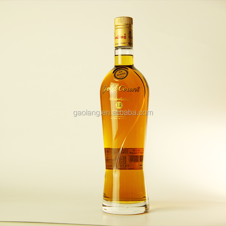 Glass Bottle Packaging and Sweet Taste whisky with cheapest price,liquor bottle packaging