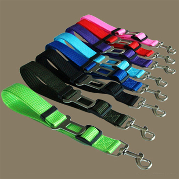 2016 Best Selling Cheap Dog Belt New Pet Dog Car Travel Safety Belt Pet Seats Belt