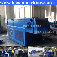 waste used scrap plastic bottle hdpe pet plastic shredding machine
