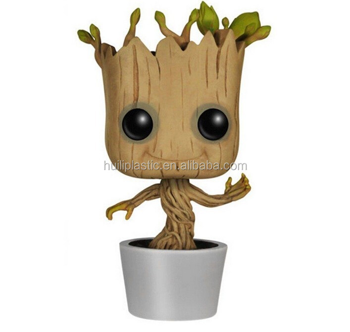 Dancing groot vinyl figure,PVC vinyl action figure mold,Custom vinyl cheap action figures