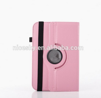 360 Degree roating Universal 7 inch Tablet PU Leather Case Stand Cover