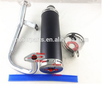 high performance scooter 50cc exhaust muffler with factory price