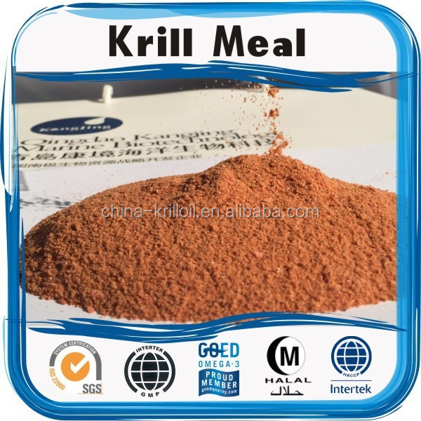 China wholesale krill meal powder for bulk chicken feed