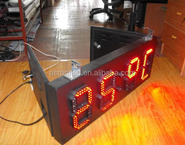 remote scoreboard electronic led score board wireless remote control LED Portable table electronic scoreboard/scoring board led