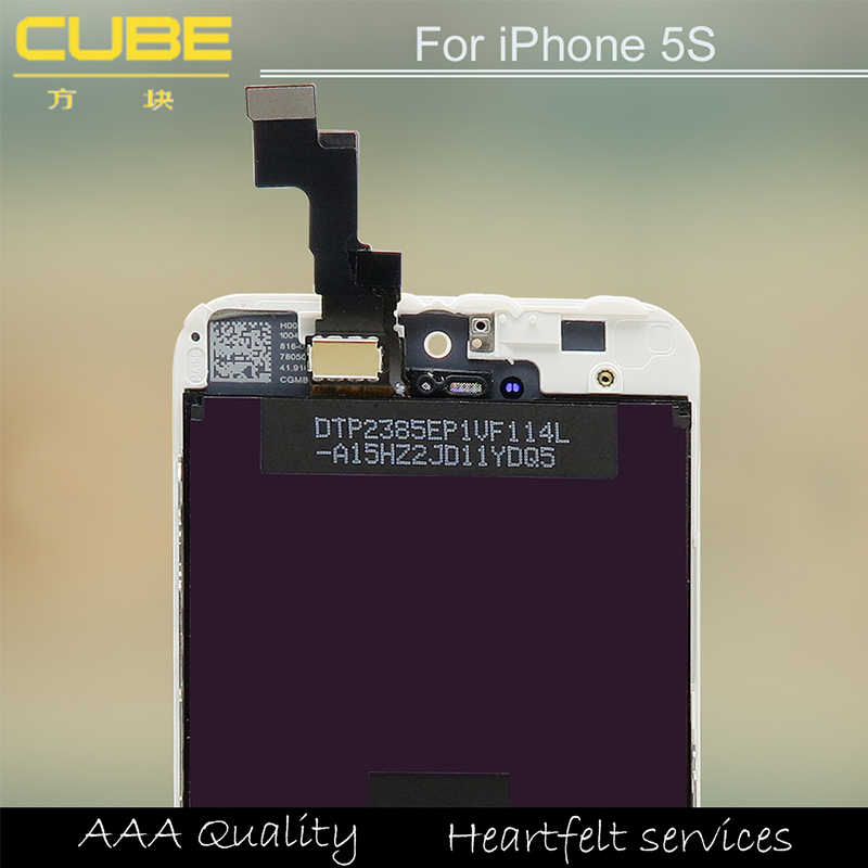 2015 new Original Mobile Phone Parts LCD Display Touch Screen Digitizer for iPhone 5 Replacement LCD Screen for iphone 5s
