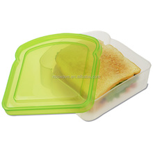 Eco-friendly microwave food container/Plastic Sandwich Box/Sandwich keeper