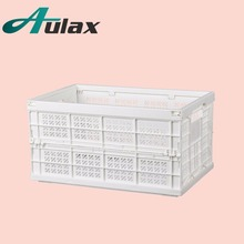 Aulax heavy duty plastic storage tote bins with high quality