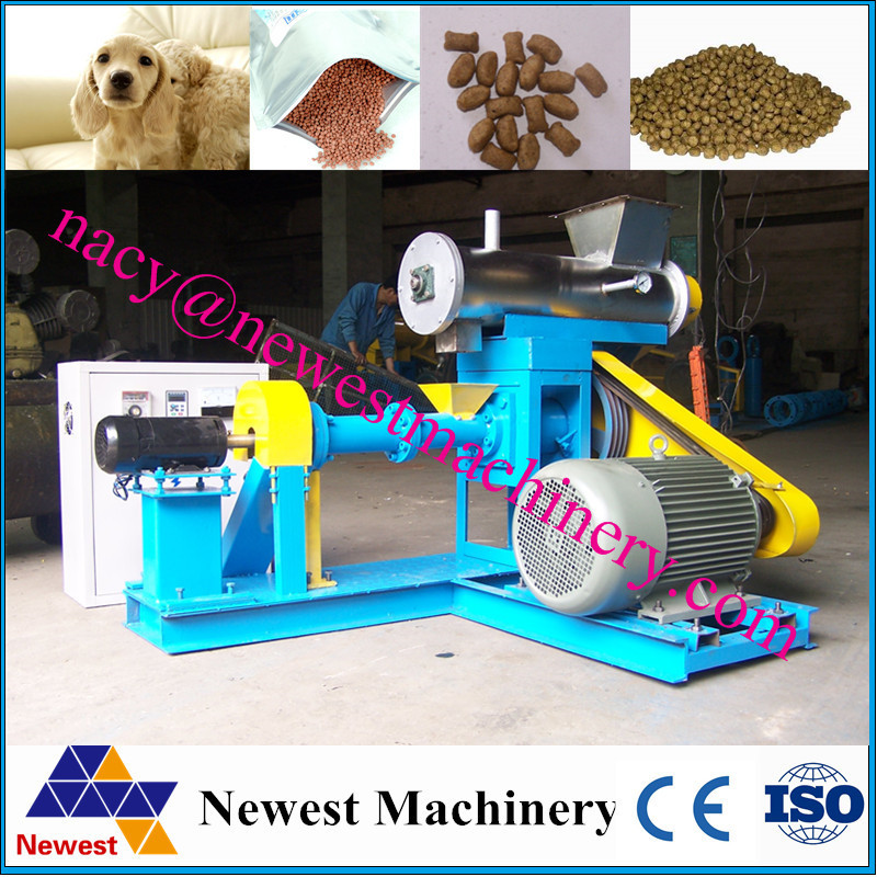 hot sale automatic mixing machine animal feeds/dog feed making machine/feed hammer mill
